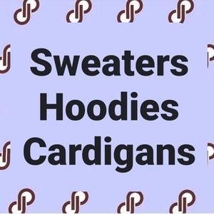 Sweaters, hoodie, cardigan, fleece